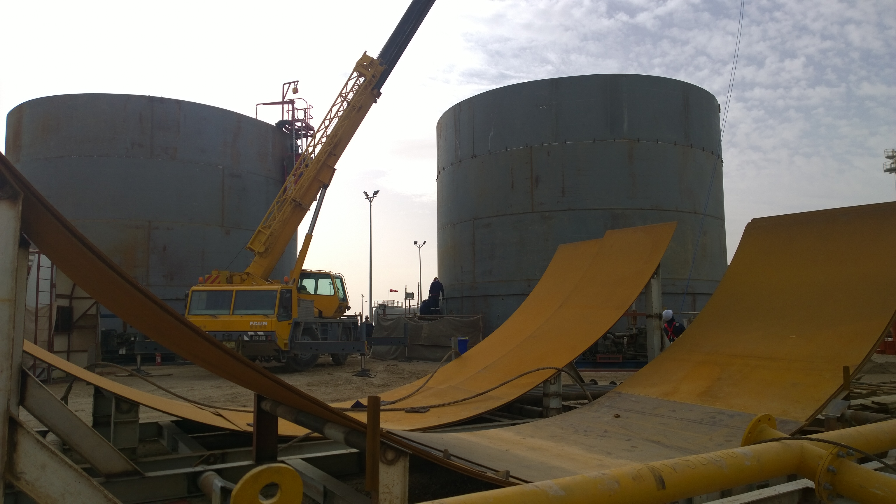 Storage Tanks Installation