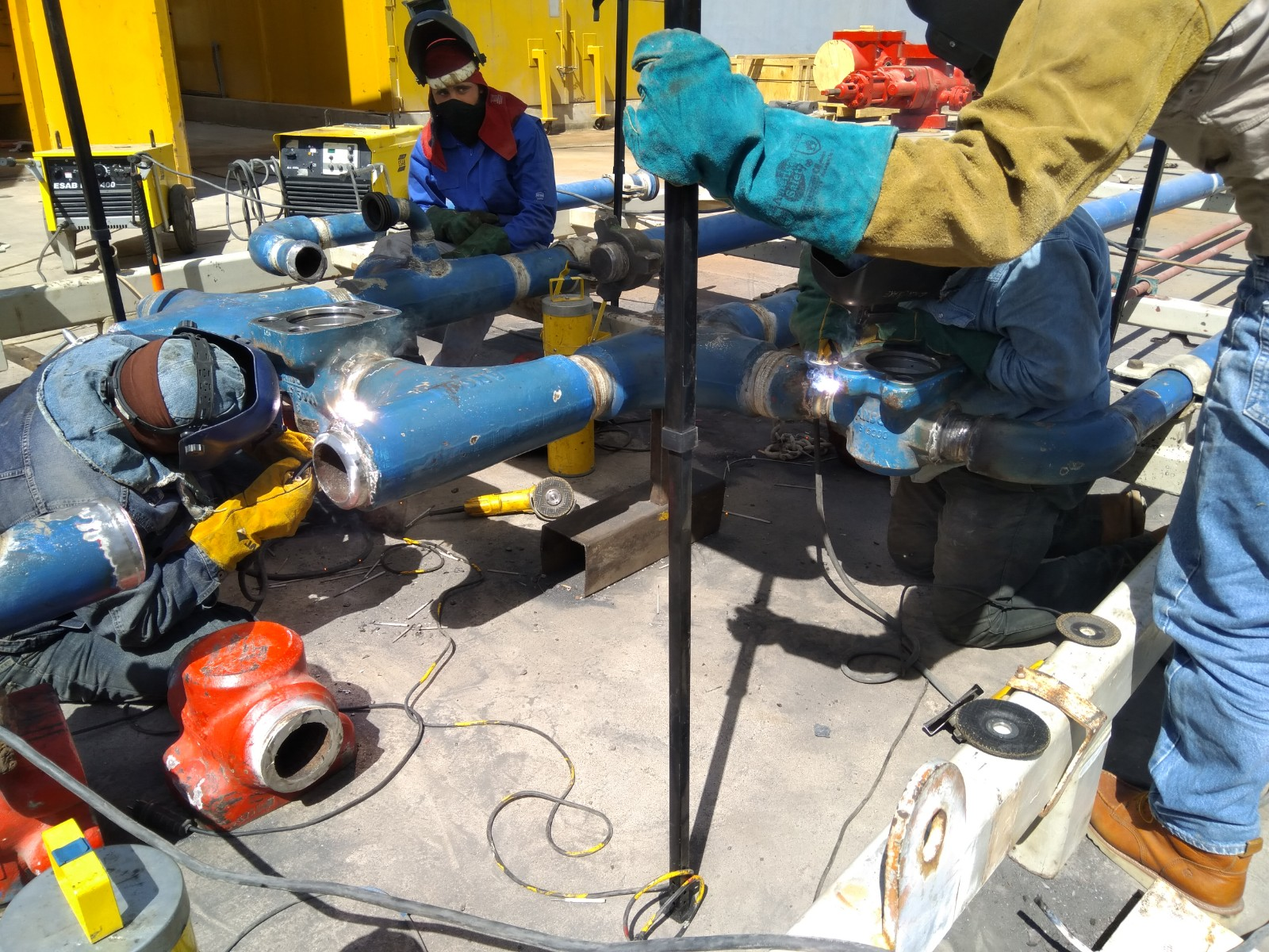 Welding High Pressure Piping